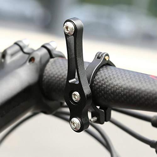 WASAGA Fahrrad-Wasserflaschenhalter, MTB Rennrad Fahrrad Flaschenhalter Regal Lenkerhalterung Sattelstütze Halterung, 19 mm-33 mm schwarze Halterung.