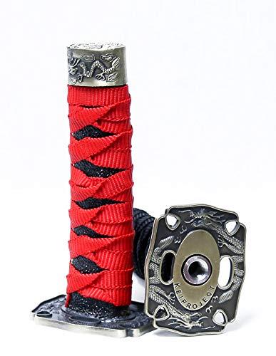 Kei Project Katana Samurai Sword Shift Knob Shifter Katana VIP Metal Weighted with Adapters Fits...