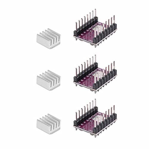 Módulo Controlador De Motor Paso A Paso DRV8825, Módulo Controlador De Motor Paso A Paso De Impresora 3D 1,5 Por Fase 4 Capas Para StepStick