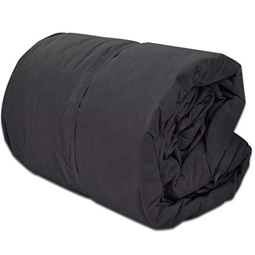 vidaXL Cubierta Protectora de Caravana M Gris 610x230x220 cm Funda para Camper