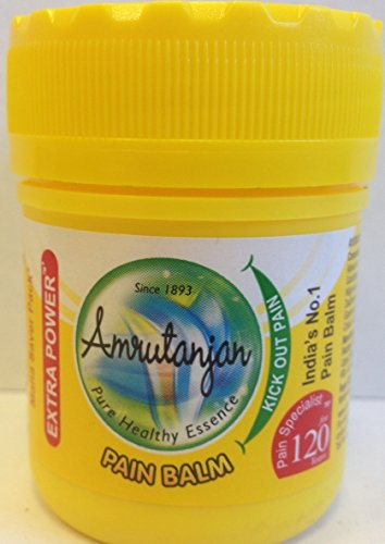 Amrutanjan Pain Rub (Balm) Yellow - 55ml