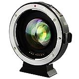 VILTROX Focal Réducteur Booster Adaptateur Objectif AF 0.71x EF-M2 pour Canon EF...