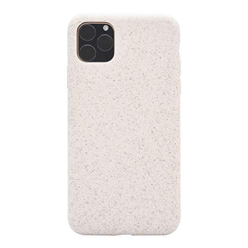 MOBO Eco Funda para iPhone 11 Pro MAX Protector Resistente a Impactos Color Beige