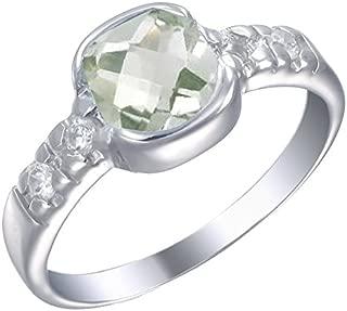 Best cushion cut green amethyst ring Reviews