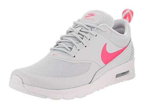 Nike Kids Air Max Thea (GS) Pure Platinum/Racer Pink/White Running Shoe 7 Kids US