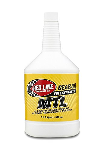 Red Line 50204 1 Pack MTL 75W80 GL-4 1 Quart