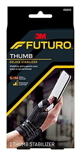 Futuro - 70005121614 FUTURO Deluxe Thumb Stabilizer, Small/Medium Black