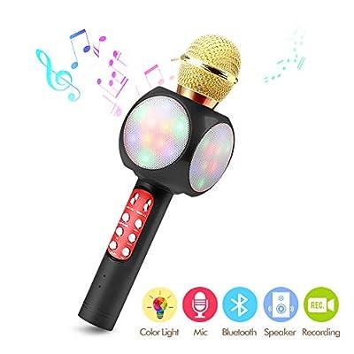 Kasono Wireless Bluetooth Microphone Karaoke