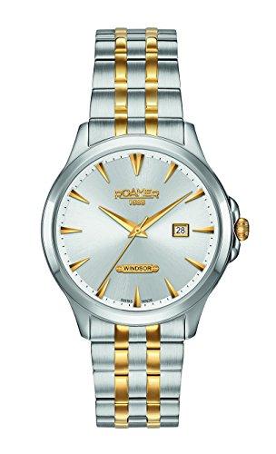 Roamer Herren-Armbanduhr WINDSOR Analog Quarz 705856 47 15 70