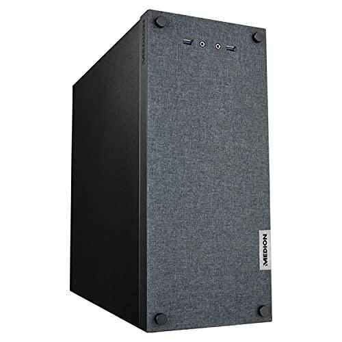 MEDION E42025 Desktop PC (Intel Core i3-9100, 512GB SSD, 8GB DDR4 RAM, Intel UHD Grafik, Win 10 Home)