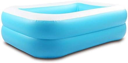 AKwwmy Multifamiliar Capa Inflable Piscina Salón Piscina for bebé al Aire Libre for Adultos Jardín de Verano del Parque acuático juguete-120 * 85 * 35cm Mengheyuan (Color : 120 * 85 * 35cm)