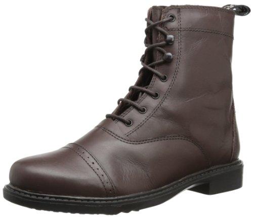 TuffRider Damen Barock Schnürstiefel Paddock Boots, Damen, 3055, mokka, 4.5 UK