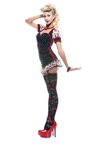 sexy Pin up Girl Kostüm für Erwachsene - S