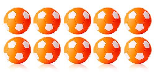 WINSPEED KICKERBALL by Robertson 35mm 10er Set in verschiedenen Farben (orange-weiß)