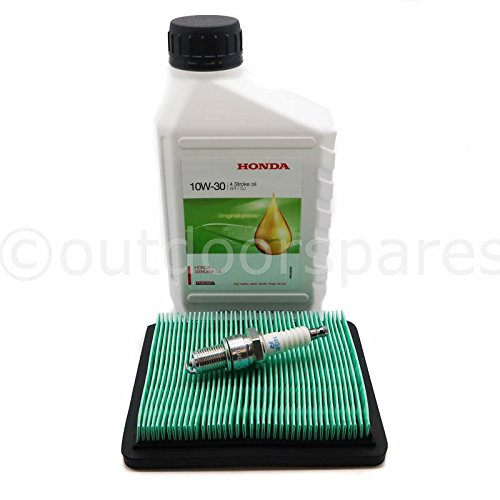 Honda Izy Rasenmäher Service Kit, echte 10 W30 Oel NGK Plug & Qualität Air Filter