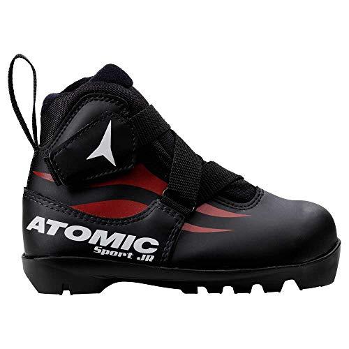 ATOMIC Sport Junior - Bottes Mixte Enfant, Noir - (Noir)