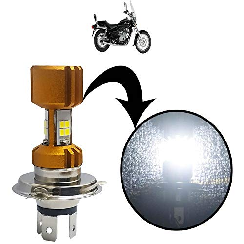 Kandid Super Bright H4 LED Headlight/Bike Light/Off Road Working Lamp for Bajaj Avenger 220 DTS i