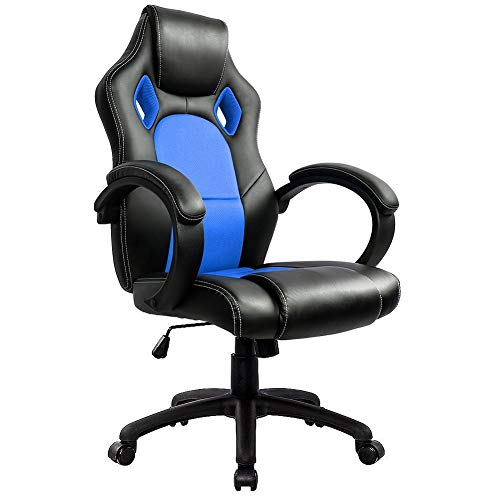 IntimaTe WM Heart Gaming Chair, High Back Office Chair, Desk Chair Back Height 74cm, Reclining Computer Chair Swivel Chair