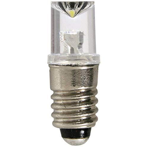 Viessmann 6019 - LED-Leuchte mit Gewindefassung, 5 Stück, weiß