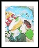 Marc Chagall Poster Kunstdruck Bild Das Landleben 40x50cm