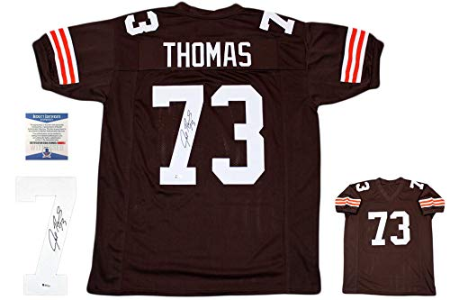 Joe Thomas Autographed Signed Jersey - TB - Beckett Authentic