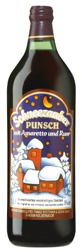Schneezauber Punsch mit Amaretto und Rum 1,0l