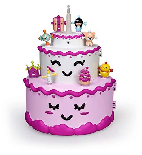ZIWIES - Tarta Mágica, con 8 figuritas coleccionables, para niños y niñas de 4 a 8 años (Famosa 700014602)