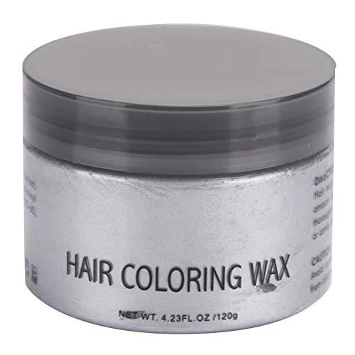 Color Hair Wax, Professioneller Friseursalon Haarfärbeton, Haarfärbeton, Frisurencreme Professionelle Haarpomaden Langlebiges natürliches Frisurenwachs für Party...
