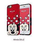 Générique New Disney Minnie Cartoons Transparent Coque Souple en TPU pour Apple iPhone 5, 5S, 5C,...