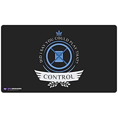 Inked Playmats Control Life: Permission Card Playmat - Inked Gaming Perfect for MtG Magic the Gathering TCG Game Mat