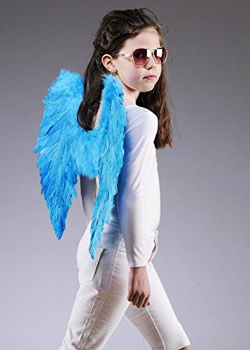Boland Enfants Taille des Ailes d'ange Plumes Bleu Turquoise