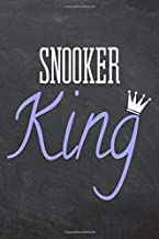 Snooker King: Snooker Notebook, Planner or Journal | Size 6 x 9 | 110 Dot Grid Pages | Office Equipment, Supplies |Funny Snooker Gift Idea for Christmas or Birthday
