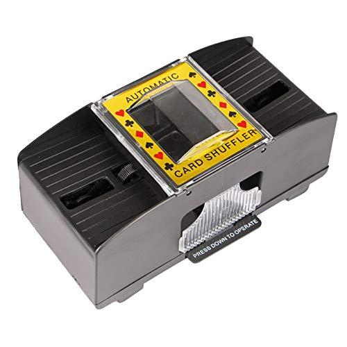 Forart Elektrische batteriebetriebene Kartenmischer Automatische Kartenmischer Elektrische Brettspielkartenmischer