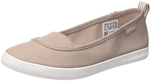 adidas Cf Qt Vulc So W, Damen Ein Ausschnitt Low,Beige (Grivap/ftwbla/orqcla) ,38 2/3 EU