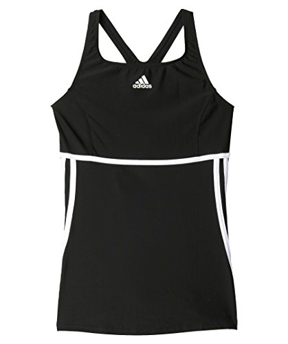 adidas Damen Badeanzug Infinitex Tankini, black/white, XS (D 36), S22915