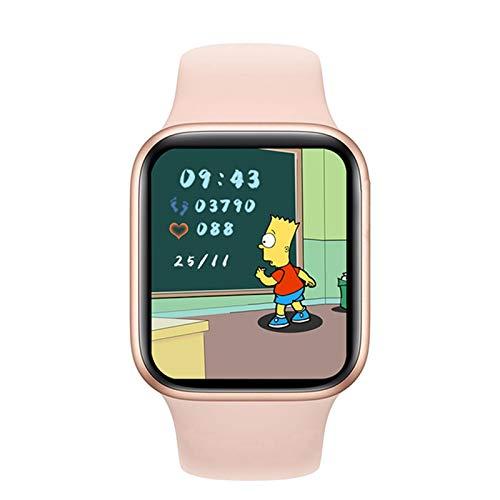 VBF Smart Watch, DW35, Schermo Quadrato da 1,75 Pollici 44 Mm Bluetooth Call Ledies E Orologio da Uomo Temperatura del Corpo Adatto per Android iOS,C