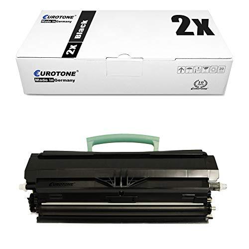 2x Müller Printware cartuccia del toner per Lexmark X 203 204 N sostituisce 00X203A11G Black nero