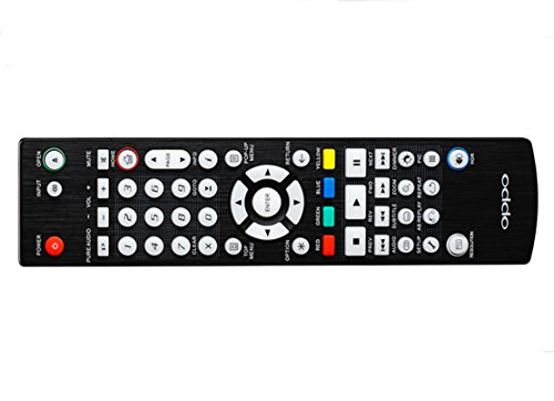Replacement Backlit Remote For Oppo UDP-203 and UDP-205 Blu-ray Players (Newest Design is Also Reverse Compatible with BDP-103, BDP 103D, BDP 105, BDP-105D)