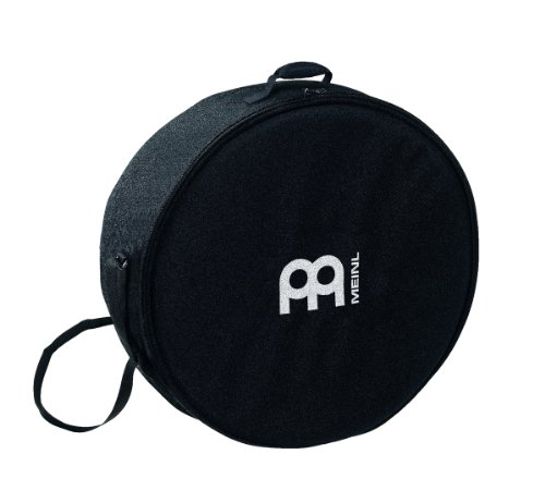 Meinl Percussion 18' Deep Shell Frame Drum Bag with Shoulder Strap - Heavy Duty Nylon, Double Slide Zipper & Carrying Grip (MFDB-18BO)