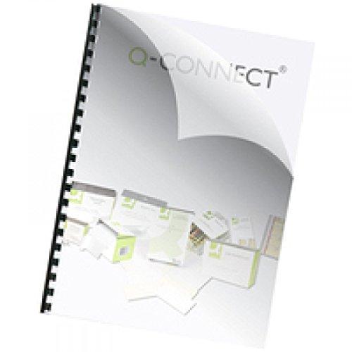Q-Connect-Copertina per rilegatura, KF24010, 150 Micron, A4 (confezione da 250)