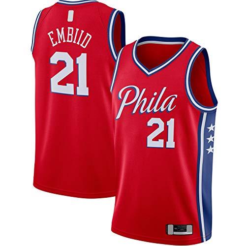 DAEYU Jersey Sudadera Declaración #21 Rojo Custom Swingman JerseyClothing #Name? Edition