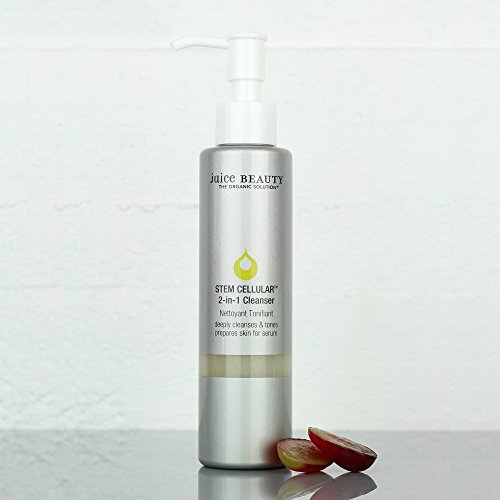 Juice Beauty Stem Cellular 2-in-1 Cleanser - Gentle Hydrating Face Wash, Daily Facial Cleansing and Makeup Removal - Vegan, Made with Organic Ingredients (4.5 Fl Oz) 2
