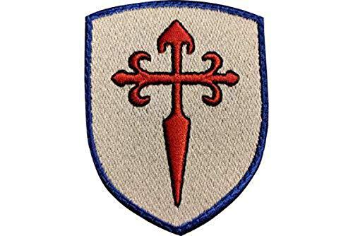 Blason Ecusson Croix Saint Jacques brodée