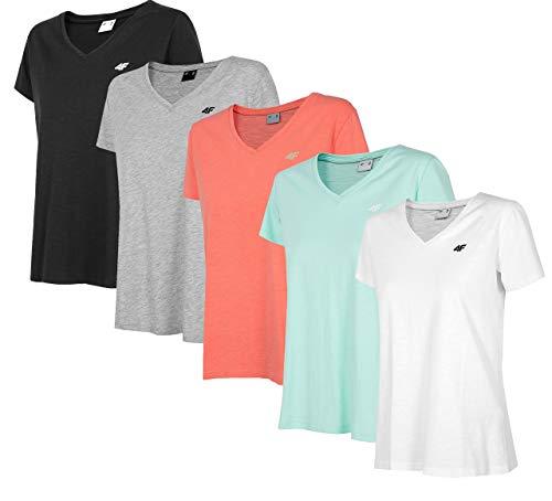 4F TSD002 T-shirt pour femme Vert menthe