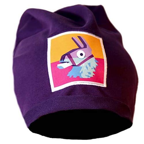 Epic Games Berretta Fortnite Viola Lama Leggera Logo Originale Merchandising Ufficiale (Viola)