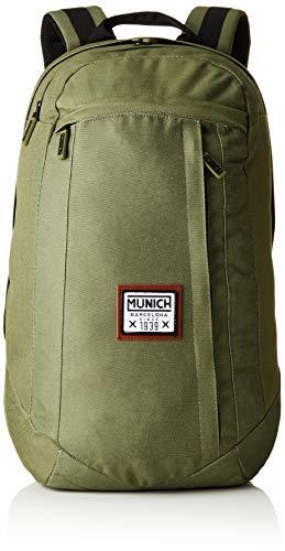 Munich Backpack PACHT I, Mochila Unisex Adulto, Verde (Khaki