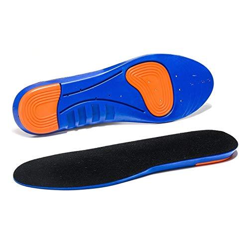 ErNahdasA Deportes de la Memoria elástica de Silicona Plantillas de Gel y Inserciones de Zapato para Mujeres y Hombres Zapatos Transpirables Almohadilla para Zapatillas de Correr
