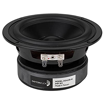 "Dayton Audio DSA135-8 5"" Designer Series Aluminum Cone Woofer by Dayton Audio"