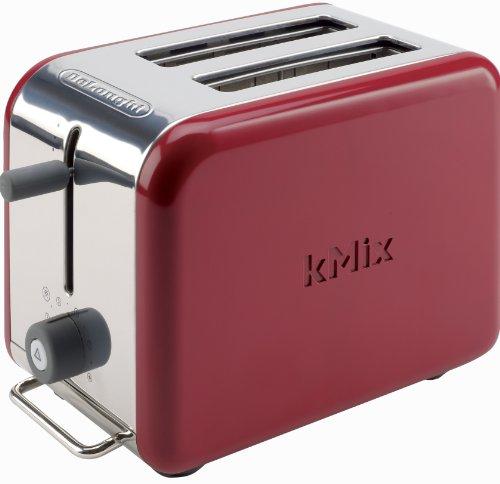 デロンギDeLonghi Kmix 2-Slice Toaster, Red 並行輸入