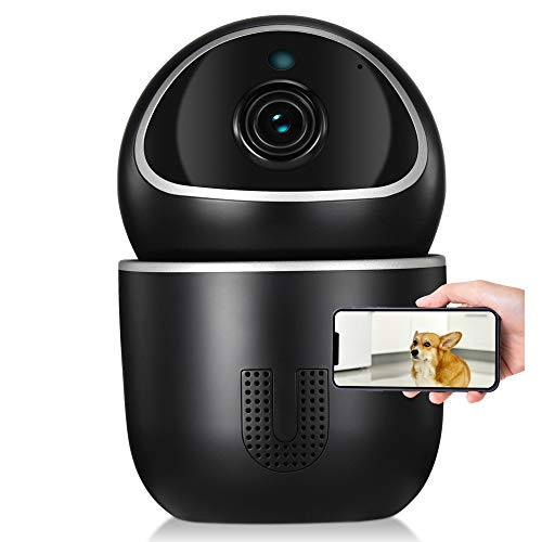 Pet Camera - Indoor Security Camera, Ucam by Tenvis & IoTeX. Home Security Camera with Motion Detection/Night Vision/2-Way Audio. Blockchain Authorization, 100% Data Privacy, Amazon Cloud & SD Storage